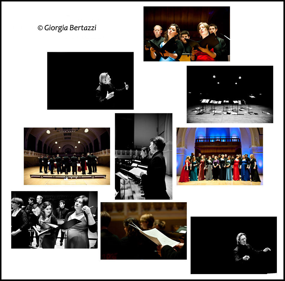 Eric Whitacre & The Eric Whitacre Singers - Cadogan Hall Photoshoot, London