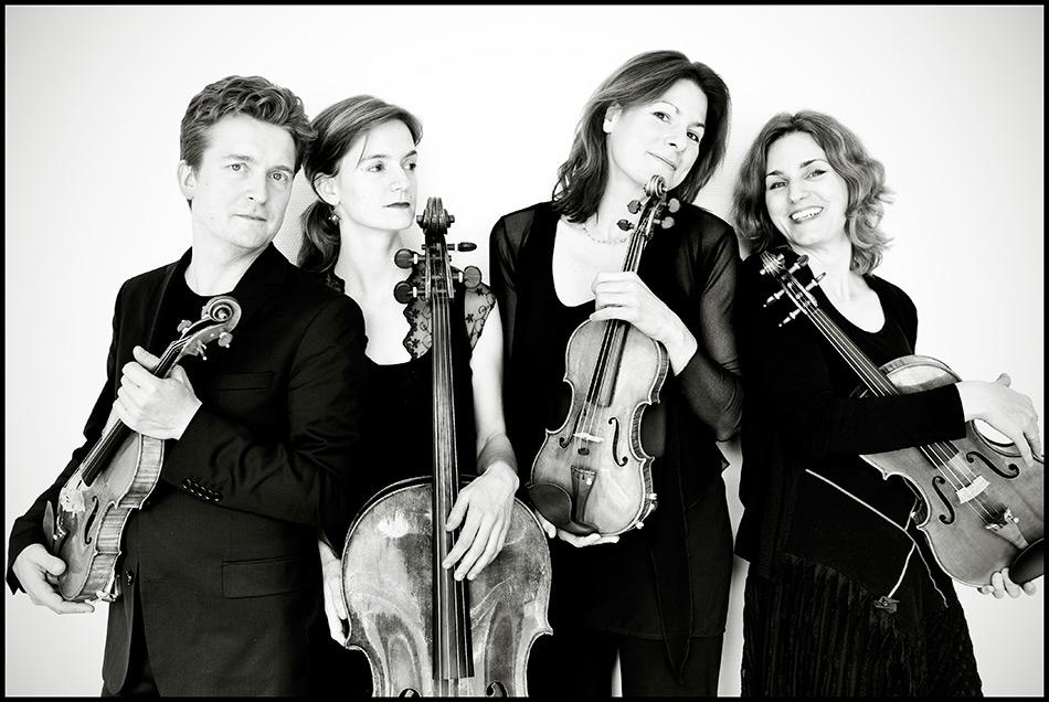 Tetzlaff Quartet photograph by Giorgia Bertazzi