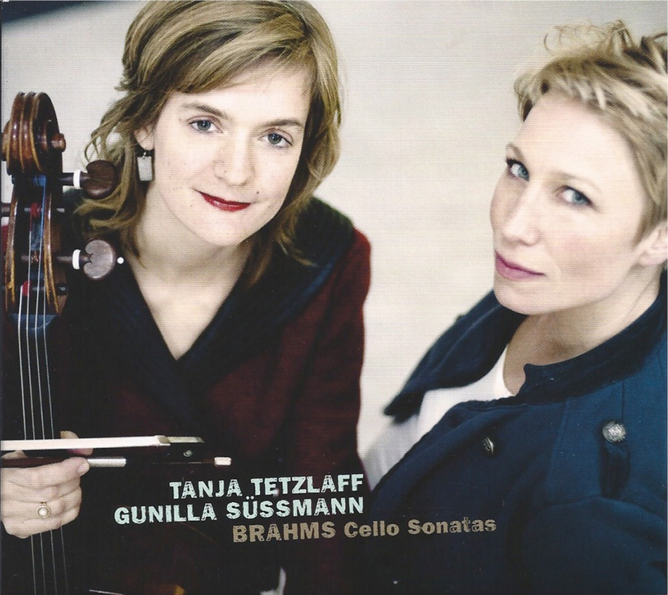 Tanja Tetzlaff & Gunilla Süssmann, Brahms Cello Sonatas CD Cover photographed by Giorgia Bertazzi