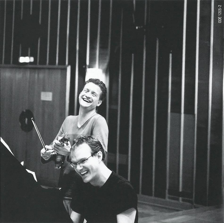 Christian Tetzlaff, Lars Vogt Shumann CD photographed by Giorgia Bertazzi